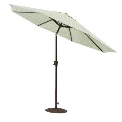 Sunbrella Fabric – Patio Umbrellas – Patio Furniture – The Home Depot Regarding Trendy Julian Market Umbrellas (View 23 of 25)