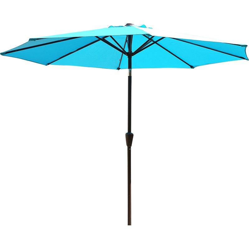Taube 9' Market Umbrella With Regard To Popular Zeman Market Umbrellas (View 8 of 25)