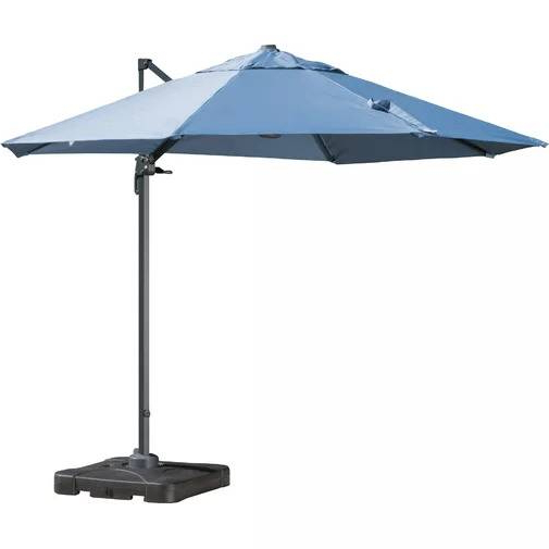 The 7 Best Patio Umbrellas For Your Yard, Garden, Or Deck In 2019 For Preferred Sheehan Half Market Umbrellas (View 15 of 25)