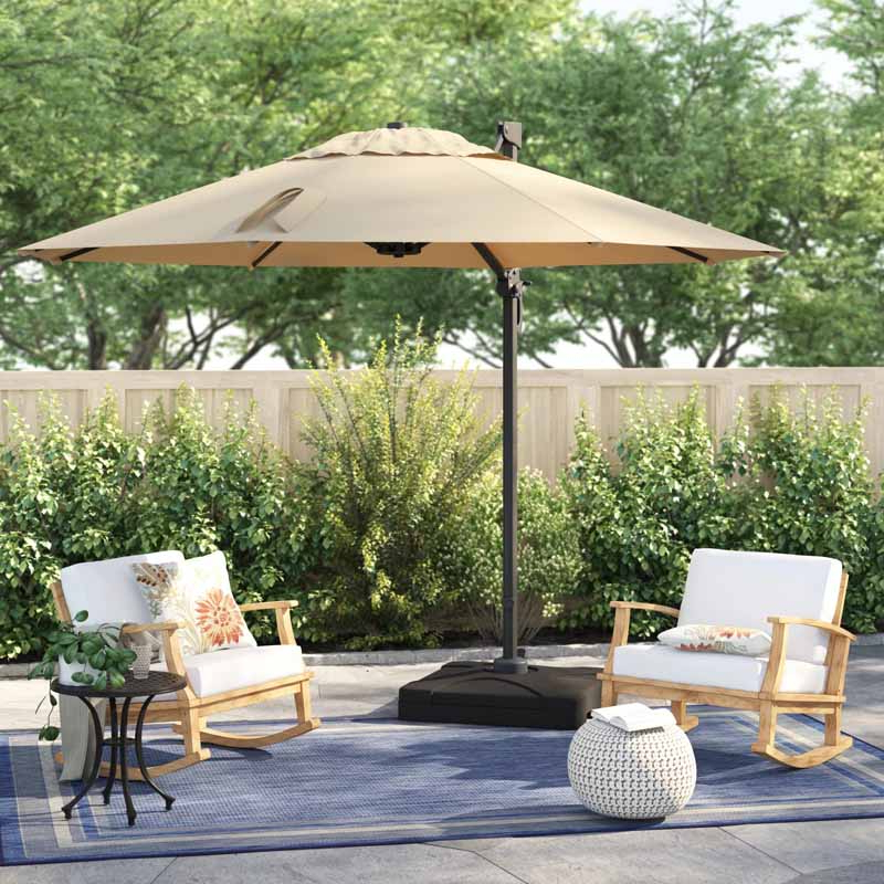 The 7 Best Patio Umbrellas For Your Yard, Garden, Or Deck In 2019 Within Recent Sheehan Half Market Umbrellas (View 21 of 25)
