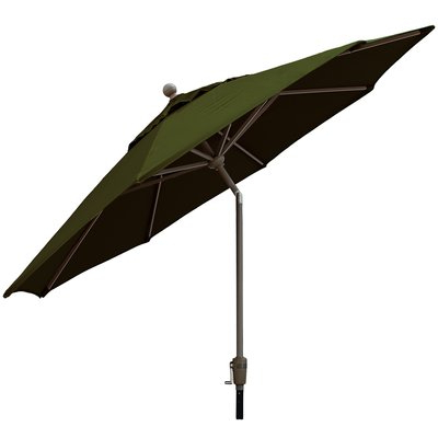 Three Posts Crowland 9' Market Sunbrella Umbrella Fabric Color Intended For Current Crowland Market Sunbrella Umbrellas (View 22 of 25)