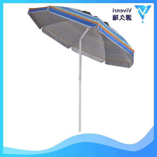 Tilt Beach Umbrellas Throughout Popular  (View 10 of 25)