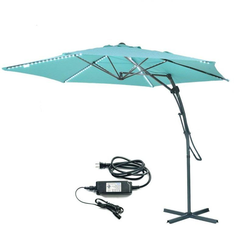 Top 10 Best Patio In Bayside Series Cantilever Umbrellas (View 13 of 25)
