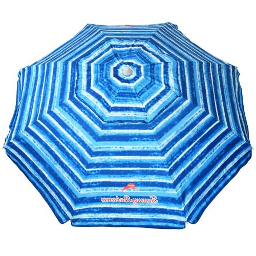 Total Sun Block Extreme Shade Beach Umbrellas Regarding Preferred Top 9 Best Beach Umbrellas In (View 11 of 25)