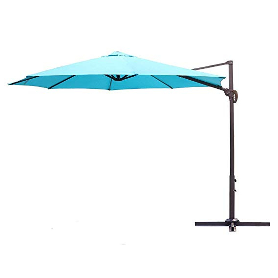 Tottenham Patio Hanging Offset Cantilever Umbrellas Regarding Well Liked Le Papillon 10 Ft Cantilever Umbrella Outdoor Offset Patio Umbrella Easy  Open, Tilt & 360 Swivel For Desired Shade All Day (View 18 of 25)