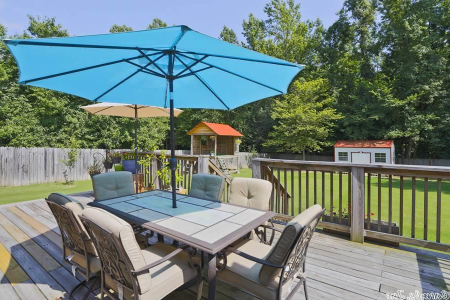 Trendy 14 Lakeland Drive, Cabot Property Listing: Mls® #19022498 For Lonoke Patio Rectangular Market Umbrellas (View 21 of 25)