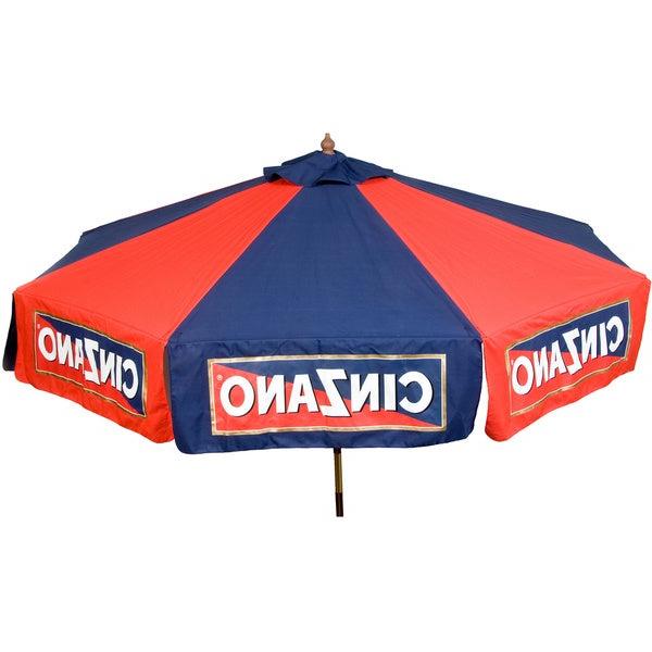 Trendy 9 Foot Cinzano Market Patio Umbrella Within Italian Market Umbrellas (View 23 of 25)