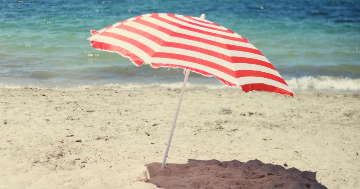 Trendy Beach Umbrellas Throughout People Keep Getting Impaledbeach Umbrellas (View 20 of 25)