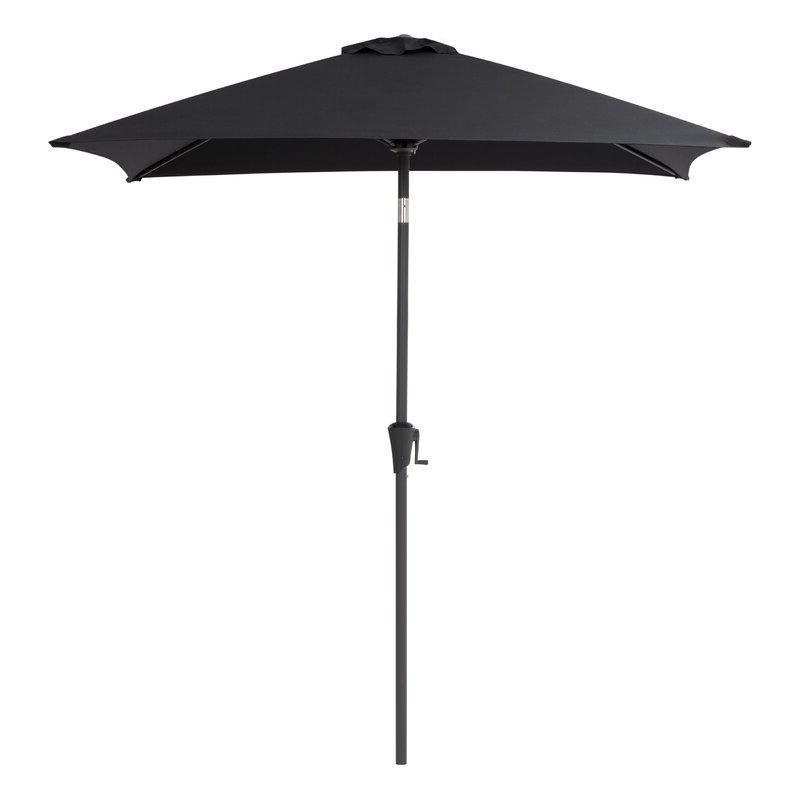 Trendy Crowborough Square Market Umbrellas Intended For Crowborough 9' Square Market Umbrella (View 23 of 25)