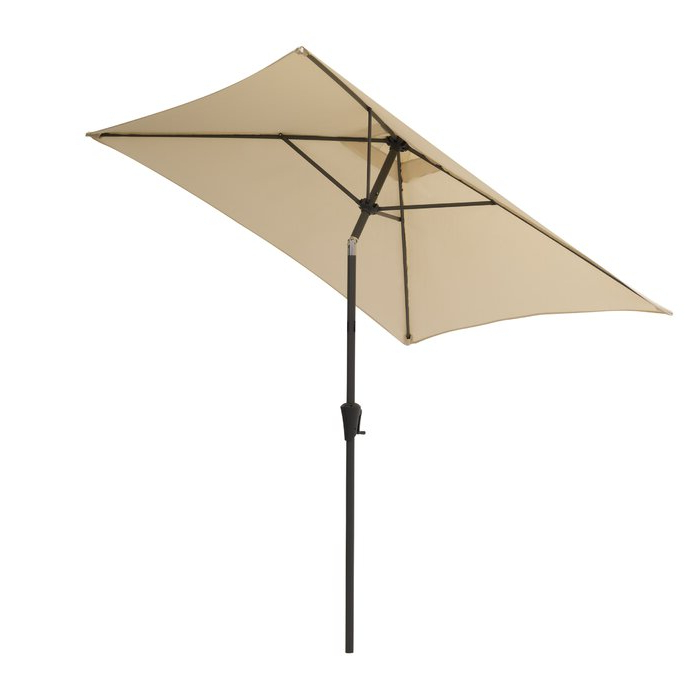 Trendy Crowborough Square Market Umbrellas Within Crowborough 9' Square Market Umbrella (View 24 of 25)