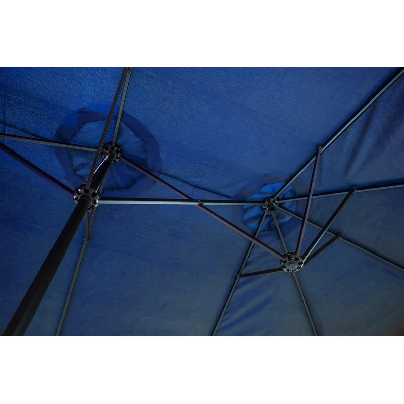 Trendy Eisele 9' W X 15' D Rectangular Market Umbrella Throughout Eisele Rectangular Market Umbrellas (View 7 of 25)
