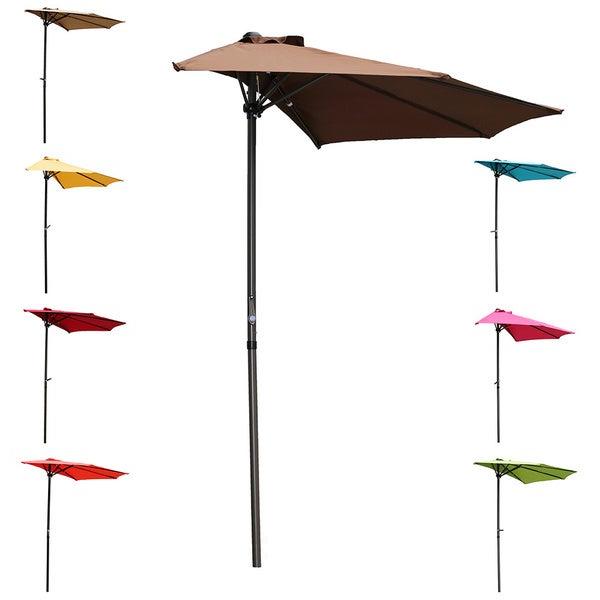 Trendy Half Round Market Umbrellas Regarding Shop International Caravan St (View 12 of 25)