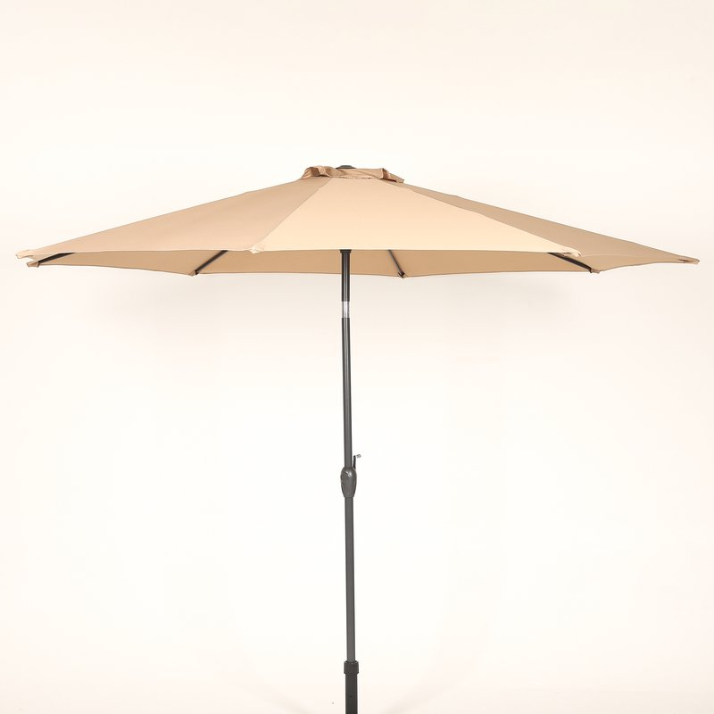 Trendy Hatten 10' Market Umbrella In Hatten Market Umbrellas (View 3 of 25)