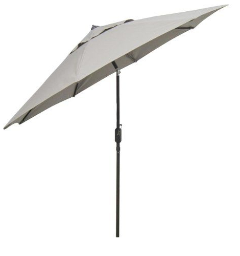 Trendy Keegan Market Umbrellas Throughout Eclipse Collection 11' Fiberglass Market Umbrella Collar Tilt Dv (View 24 of 25)