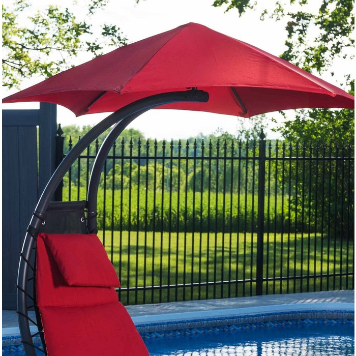 Featured Photo of Maglione Fabric Cantilever Umbrellas