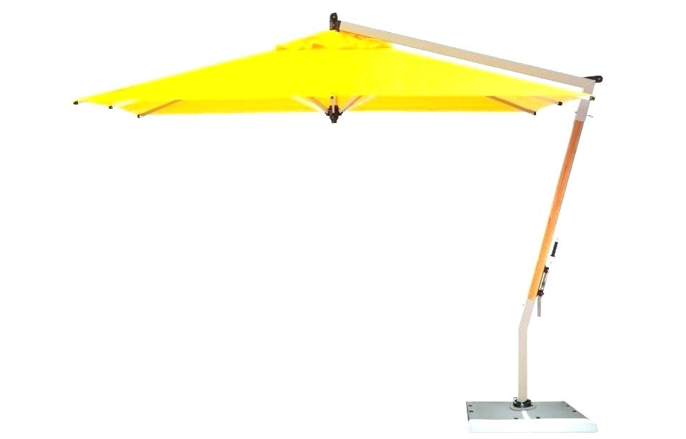 Trotman Cantilever Umbrellas With Popular Free Standing Umbrella Base Free Standing Umbrellas Outdoors (View 12 of 25)