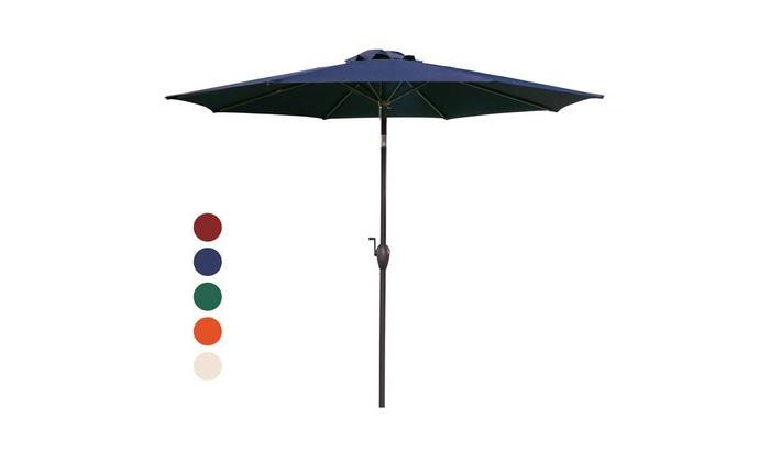 Turquoise Umbrella Outdoor – Caldwellcountytxoem Throughout Famous Kedzie Outdoor Cantilever Umbrellas (View 22 of 25)