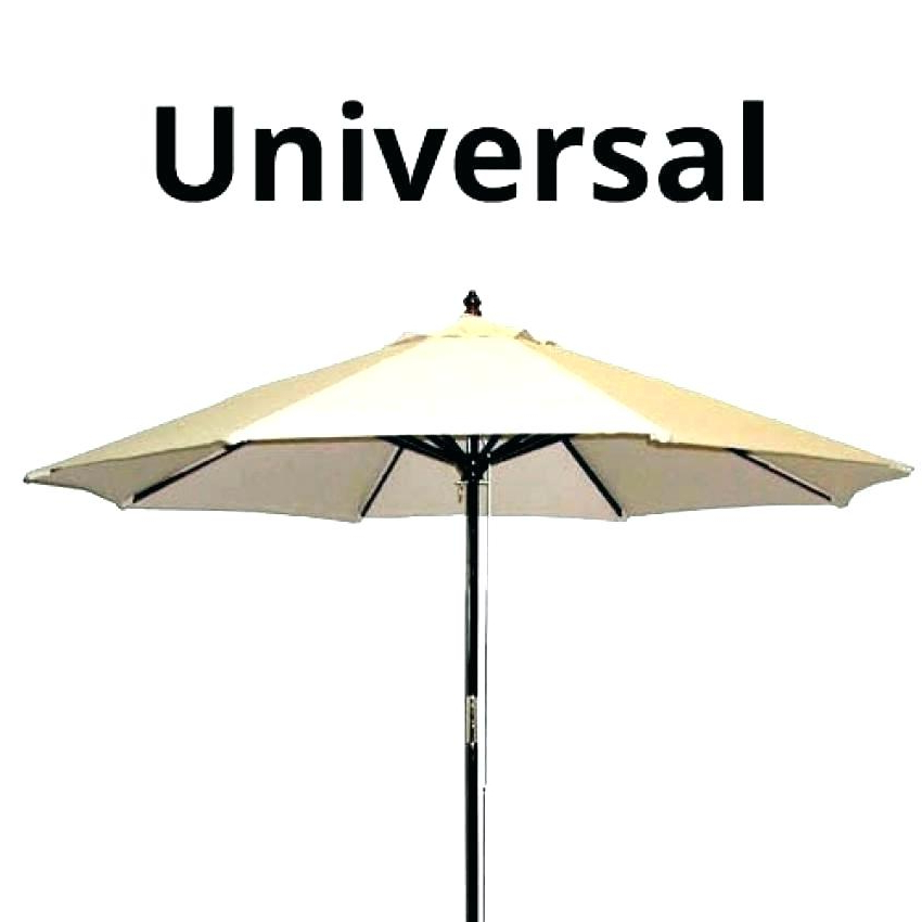 Umbrella Canopy Replacement 8 Ribs – Untagupdate Throughout Favorite Madalyn Rectangular Market Sunbrella Umbrellas (View 20 of 25)