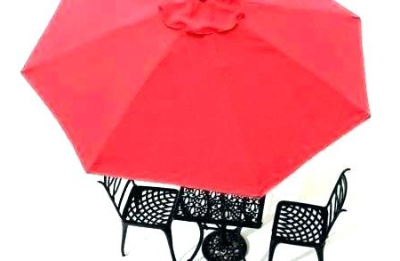 Umbrella Canopy Replacement 8 Ribs – Untagupdate Within Most Up To Date Madalyn Rectangular Market Sunbrella Umbrellas (View 25 of 25)