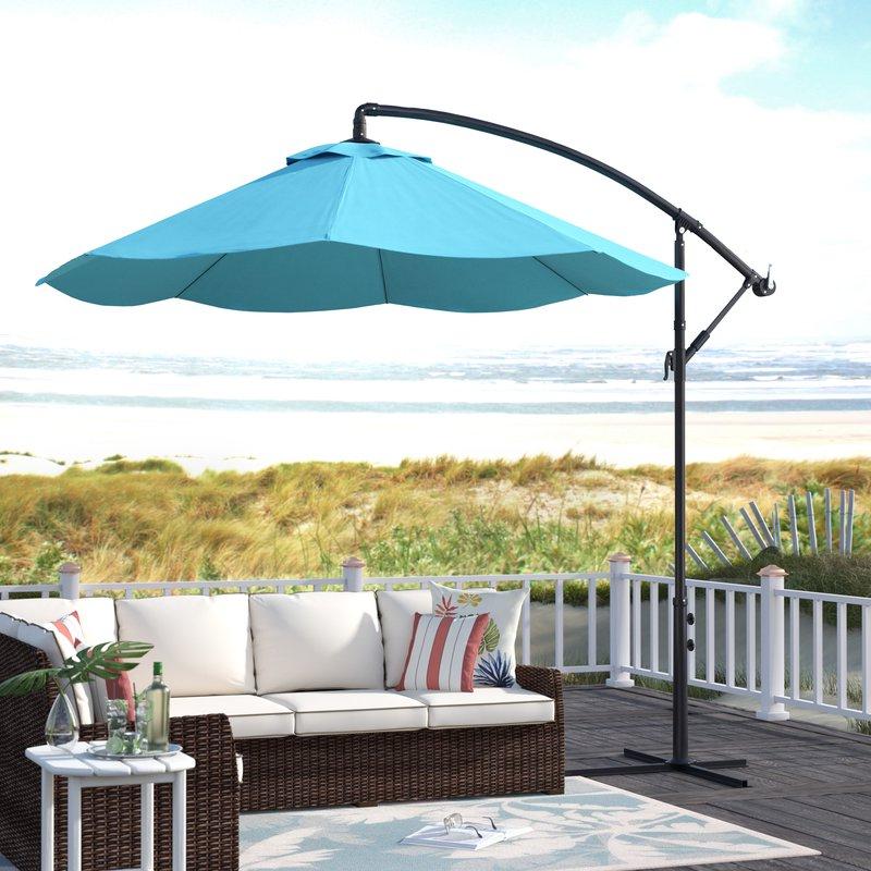 Vassalboro 10' Cantilever Umbrella Regarding Most Recently Released Vassalboro Cantilever Umbrellas (View 4 of 25)
