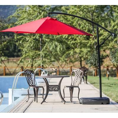 Vassalboro Cantilever Umbrellas Intended For 2018 Vassalboro 10' Cantilever Umbrella & Reviews (View 24 of 25)