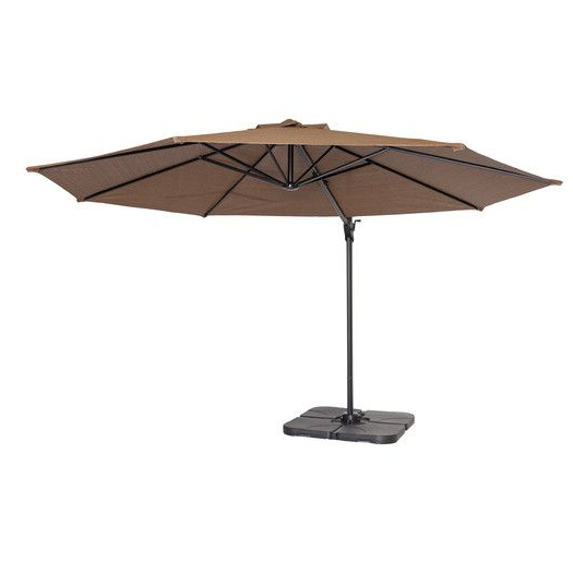 Vassalboro Cantilever Umbrellas Throughout Preferred Found It At Allmodern – 12' Round Cantilever Patio Umbrella (Gallery 20 of 25)