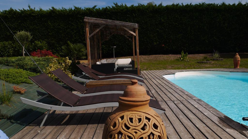 Villa Gergovia, Pérignat-Lès-Sarliève, France - Booking with regard to Newest Dore Patio Cantilever Umbrellas