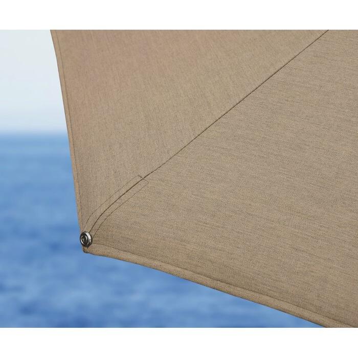 Voss 11' Cantilever Sunbrella Umbrella In Preferred Voss Cantilever Sunbrella Umbrellas (View 11 of 25)