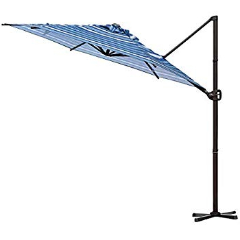 Voss Cantilever Sunbrella Umbrellas In Trendy Amazon : Le Papillon 10 Ft Cantilever Umbrella Outdoor Offset (View 17 of 25)