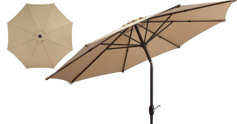 Walmart: Mainstays 9' Market Outdoor Umbrella Just $18.29 (Reg (View 17 of 25)