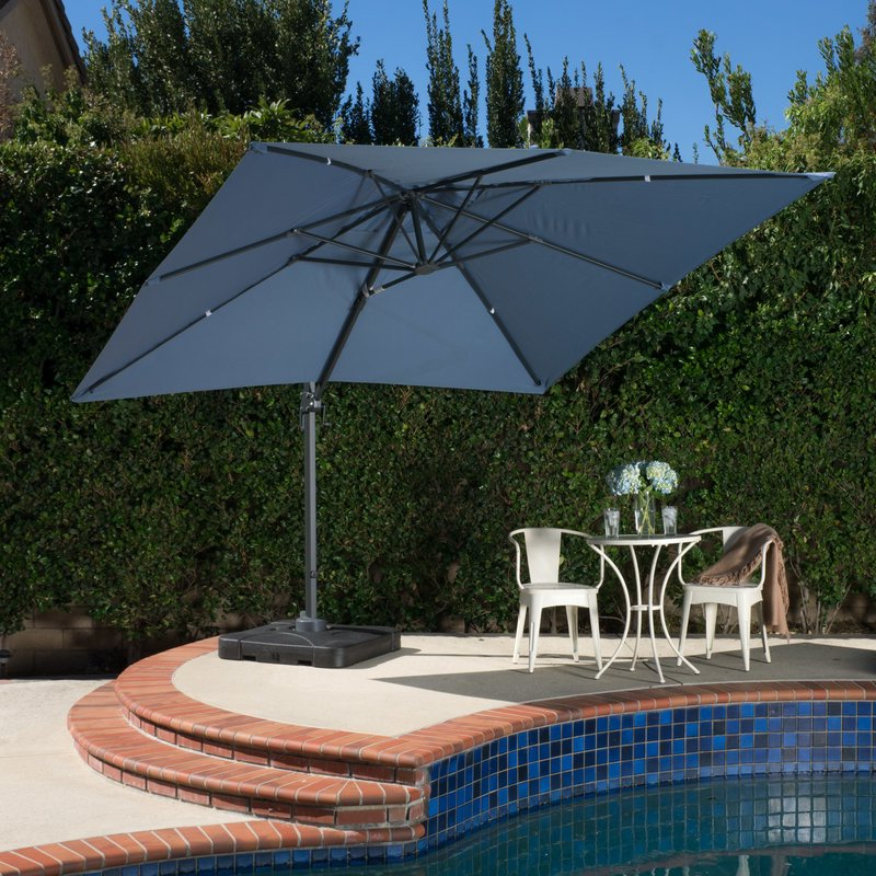 Wardingham Square Cantilever Umbrellas Intended For Favorite 12 Best Patio Umbrella Reviews: Top Quality Outdoor Umbrellas In  (View 20 of 25)