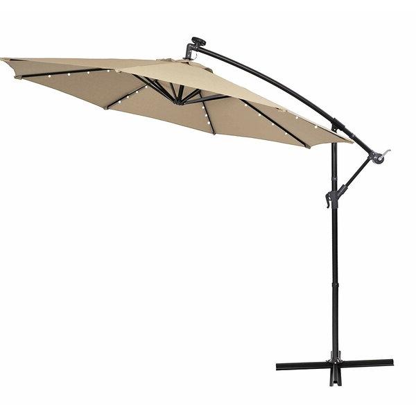 Wayfair In Tallulah Sunshade Hanging Outdoor Cantilever Umbrellas (View 15 of 25)