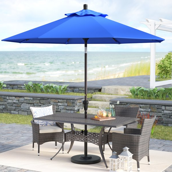 Wayfair With Madalyn Rectangular Market Sunbrella Umbrellas (View 4 of 25)