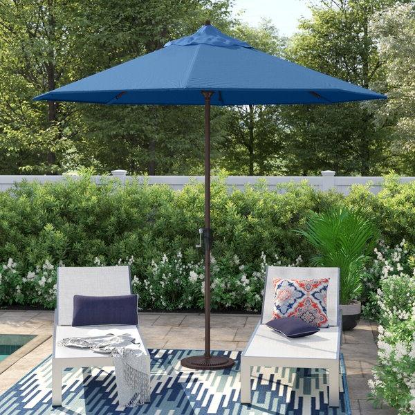 Wayfair Within Alder Half Round Outdoor Patio Market Umbrellas (View 9 of 25)