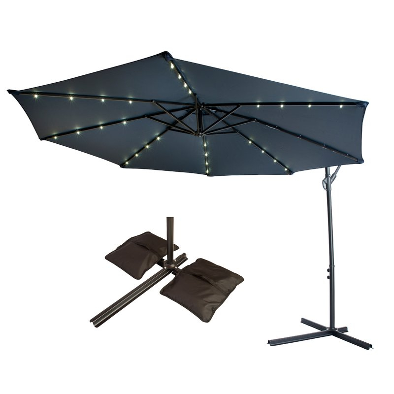 Well Known 10' Cantilever Umbrella Inside Trotman Cantilever Umbrellas (View 21 of 25)