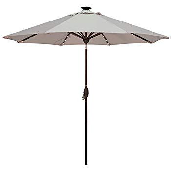 Well Known Amazon : Abba Patio 97 Feet Rectangular Patio Umbrella With With Regard To Griselda Solar Lighted  Rectangular Market Umbrellas (View 23 of 25)