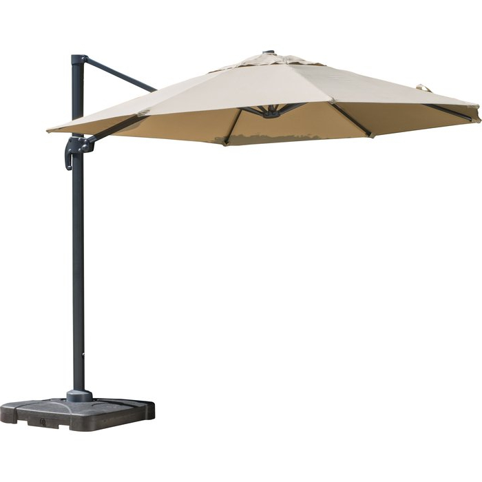 Well Known Bellana Cantilever Umbrella Within Ketcham Cantilever Umbrellas (View 3 of 25)