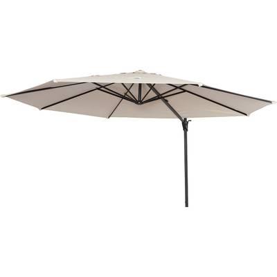Well Known Carlisle 10' Square Cantilever Sunbrella Umbrella & Reviews (View 17 of 25)