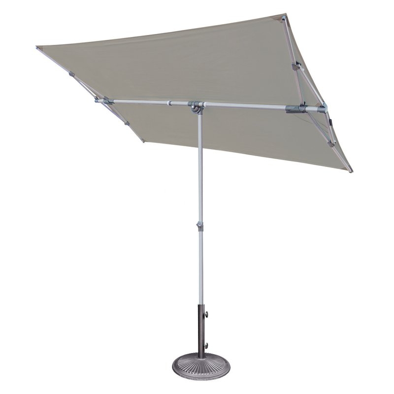 Well Known Cordelia 5' X 7' Rectangular Market Umbrella Inside Pau Rectangular Market Umbrellas (View 24 of 25)