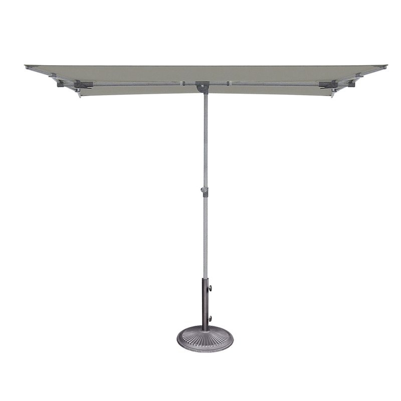 Well Known Cordelia 5' X 7' Rectangular Market Umbrella Pertaining To Pau Rectangular Market Umbrellas (View 21 of 25)
