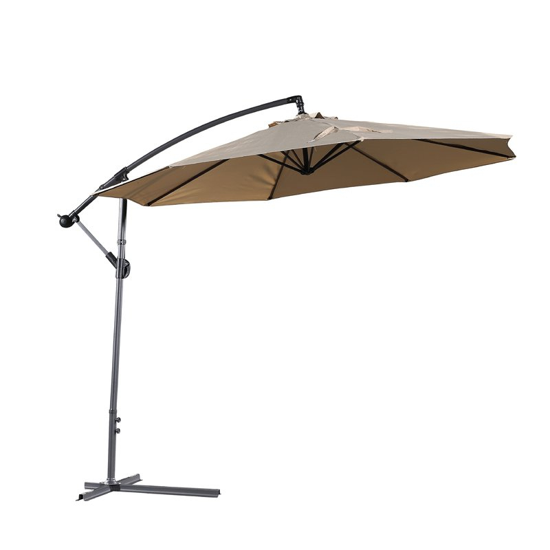 Well Known Dore Patio 10' Cantilever Umbrella For Dore Patio Cantilever Umbrellas (View 23 of 25)