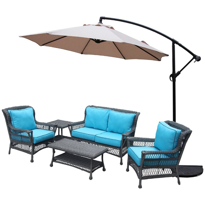 Well Known Iyanna 10' Cantilever Umbrella Within Iyanna Cantilever Umbrellas (View 25 of 25)