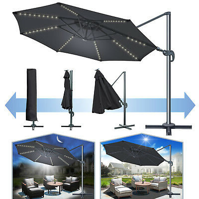 Well Known Kedzie Outdoor Cantilever Umbrellas Regarding Oakland Living 10' Cantilever Umbrella Oaa3031 – $ (View 21 of 25)
