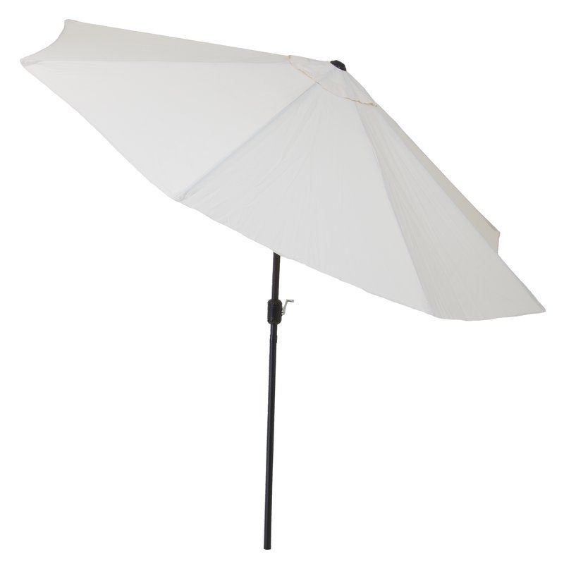 Well Known Kelton Market Umbrellas Pertaining To Kelton 10' Market Umbrella (View 13 of 25)