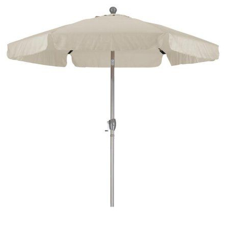 Well Known Kerner Steel Beach Umbrellas In 5' Steel Beach Tilt Umbrella – Red – Sunnydaze Decor (View 25 of 25)