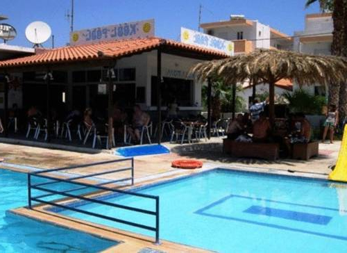Well Known Kool Pool Studios And Apartments – Kos, Greece – Reviews & Bookings Regarding Monty Half Market Umbrellas (View 23 of 25)