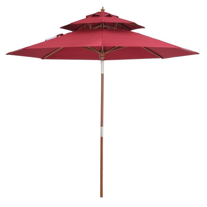 Well Known Markley Market Beach Umbrellas Pertaining To Zeigler 9' Market Umbrella (View 14 of 25)