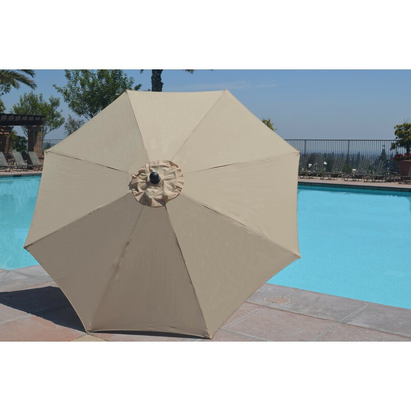 Well Known Mucci Madilyn 9' Market Sunbrella Umbrella Intended For Mucci Madilyn Market Sunbrella Umbrellas (View 24 of 25)