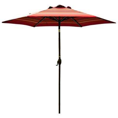 Well Known Mullaney Market Sunbrella Umbrellas With Regard To Umbrella Included – Patio Furniture – Outdoors – The Home Depot (View 25 of 25)