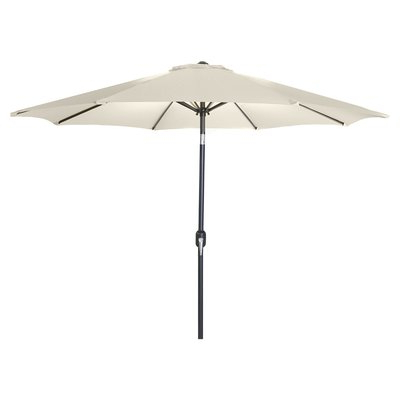 Well Known New Haven Market Umbrellas With Regard To Three Posts New Haven Market Umbrella Fabric: Natural (View 24 of 25)